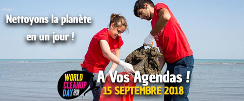 World Cleanup Day à Malo-les-Bains (Dunkerque)