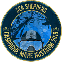 Logo de l'opération Mare Nostrum de Sea Shepherd France