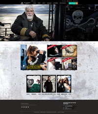 Aperçu de la boutique en ligne de Sea Shepherd France